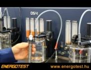 CR injektor vizsgáló - 4 injektor egyidejű vizsgálatához