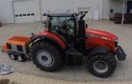 Traktor teljesítmény mérő pad