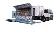 MVA-30 mobil vizsga állomás személy és tehergépjárművek részére